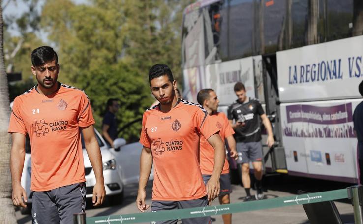 El Real Valladolid estrena la pretemporada en Marbella