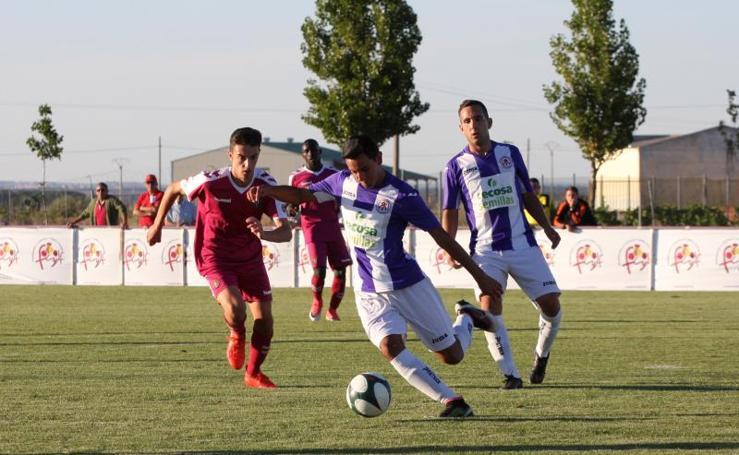 El filial golea en el primer partido del Trofeo Diputación