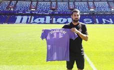 «¿Heredero de Aduriz en el Athletic? Yo solo pienso en esta etapa en Valladolid»