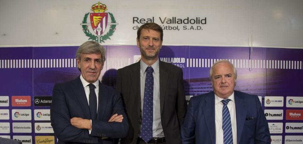 Carlos Suárez presenta a dos nuevos vicepresidentes para acelerar el crecimiento del Real Valladolid