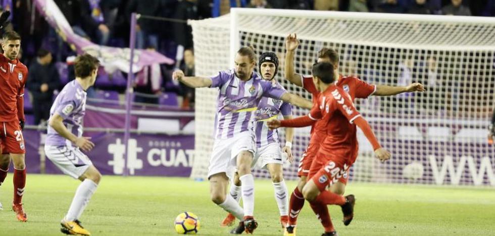 El Valladolid gana algo más que tres puntos ante el Lorca