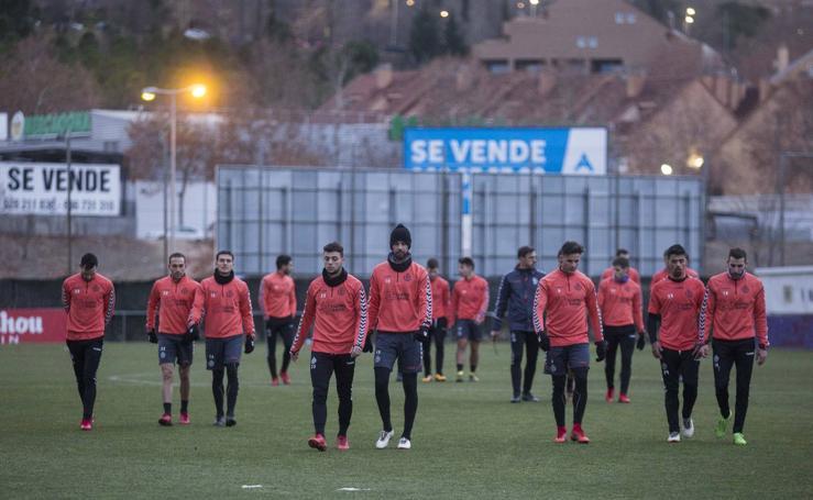 El Real Valladolid vuelve a los entrenamientos tras el parón navideño