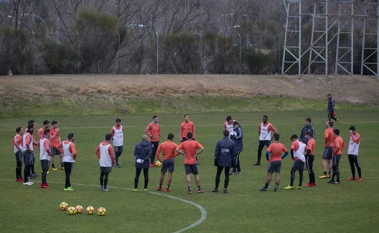 El primer entrenamiento del año del Real Valladolid