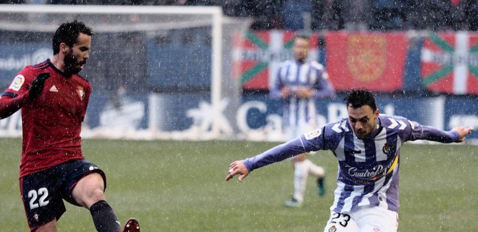 Los viejos defectos condenan de nuevo al Valladolid ante Osasuna