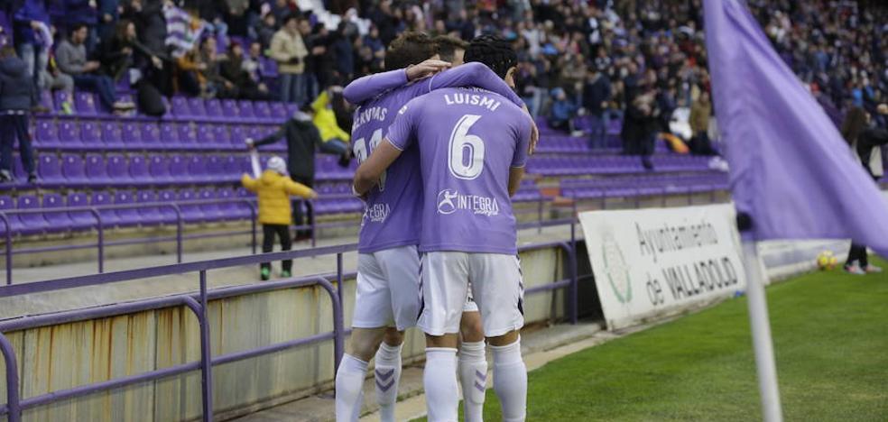El Valladolid derrota a la Cultural por oficio, empuje y calidad
