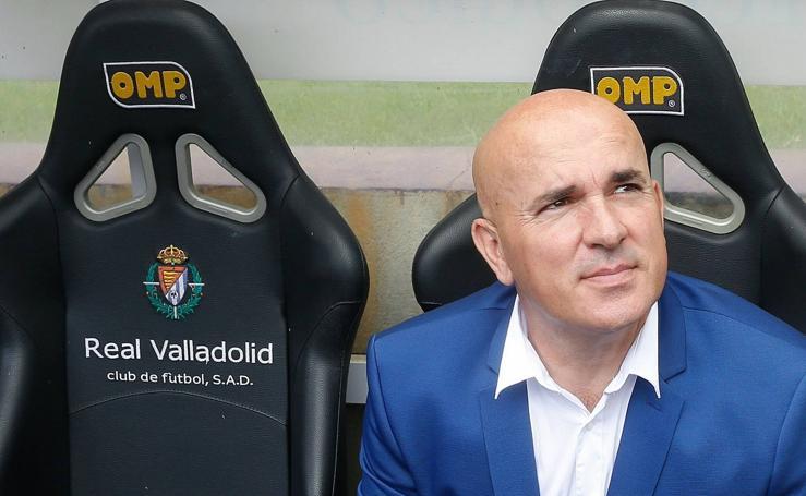 La trayectoria de Luis César Sampedro en el Real Valladolid, en imágenes