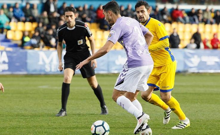El Real Valladolid no consigue marcar en Alcorcón