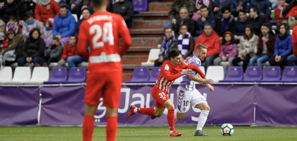 Tres puntos agónicos del Valladolid para seguir en la pelea