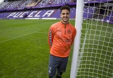 Christopher Ramos, en el estadio Zorrilla.