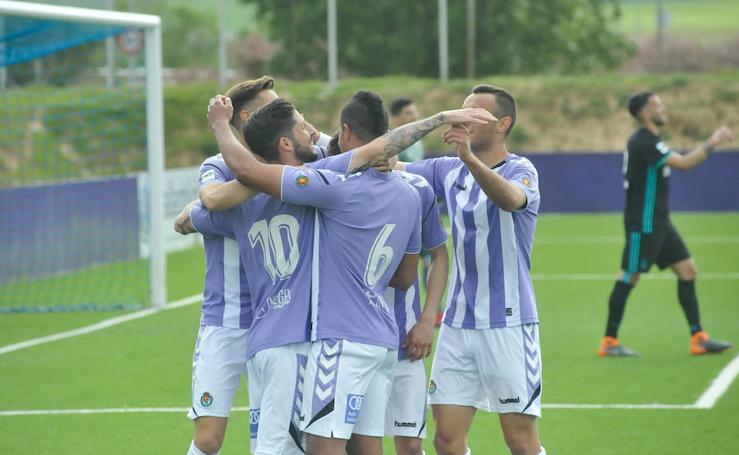 El Castilla gana al Real Valladolid B