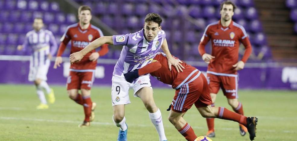 El Real Valladolid puede coger en Zaragoza el primer tren del 'play-off'