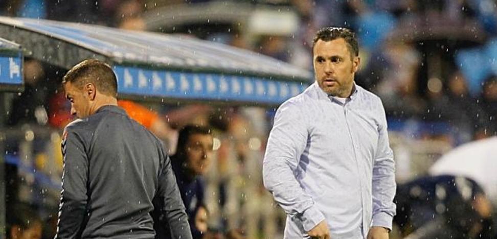 Sergio cree que los dos penaltis desequilibraron el partido del Real Valladolid