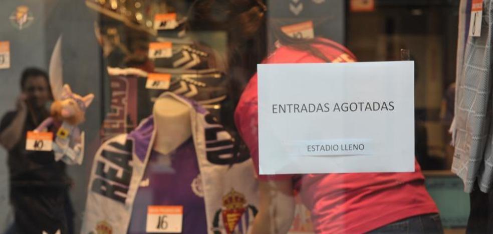 Agotadas las entradas para el Real Valladolid-Osasuna