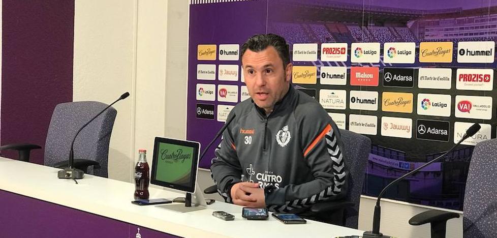 Sergio González: «La afición fue importante en Zaragoza; ¡ojalá lo sea en Zorrilla!»
