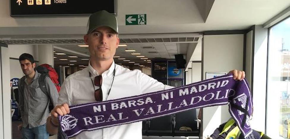 «Volar a Valladolid para ver jugar al Pucela en directo me hace feliz»