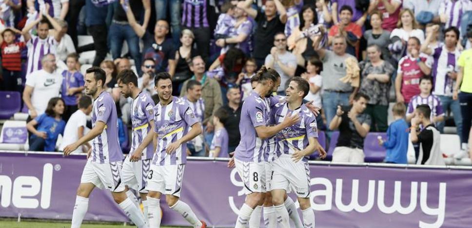 El Real Valladolid peleará por el ascenso a Primera