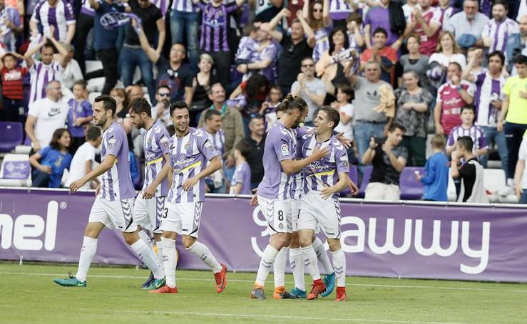 El Real Valladolid consigue la victoria para jugar los 'play-off'