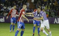 Las imágenes del partido entre el Real Valladolid y el Sporting