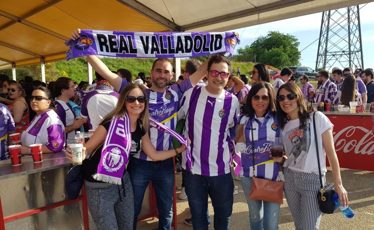 Las fotos de apoyo al Real Valladolid enviadas por los lectores de El Norte de Castilla