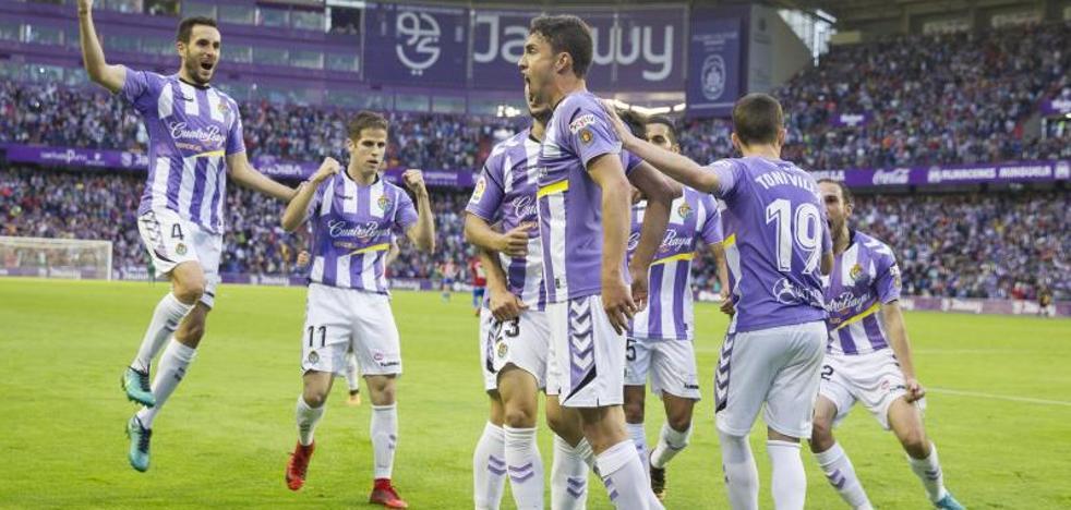 El Valladolid vence al Sporting para acercarse a Primera