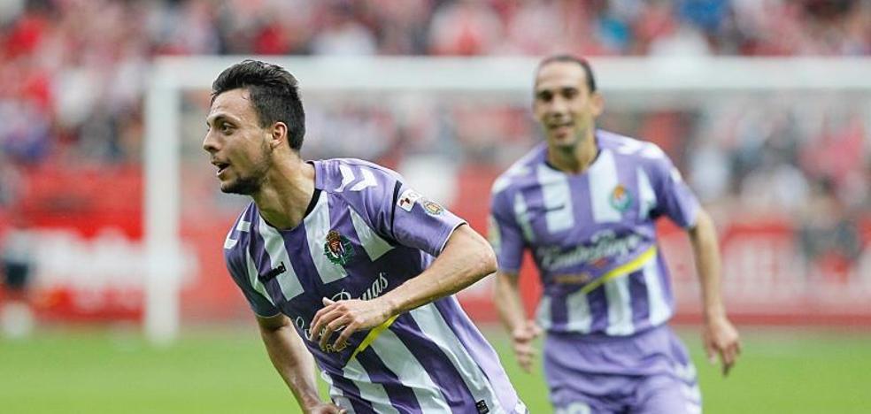 El Valladolid gana de nuevo al Sporting y está a dos partidos de Primera
