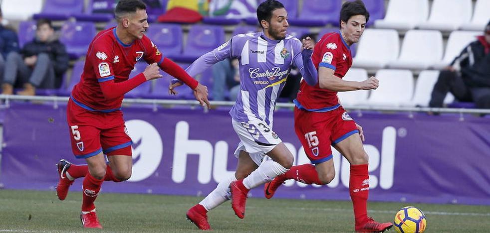 Numancia y Real Valladolid se juegan la ida del 'play-off' escondiendo sus cartas hasta última hora