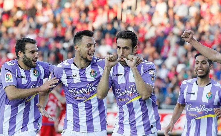El Real Valladolid está a un paso de ser equipo de Primera