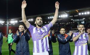 Las imágenes del partido entre el Real Valladolid y el Numancia