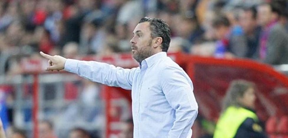 El entrenador del Real Valladolid recurre a la prudencia y a la humildad