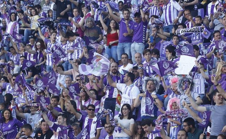 Búscate en las gradas del estadio José Zorrilla