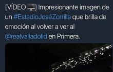 Twitter se llena de felicitaciones al Real Valladolid y triunfa la etiqueta #PucelaEsDePrimera