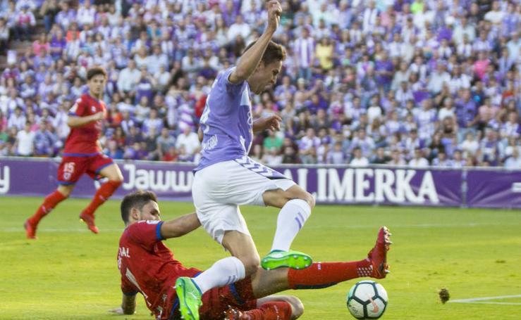 El Real Valladolid empata frente al Numancia y consigue el ascenso a Primera
