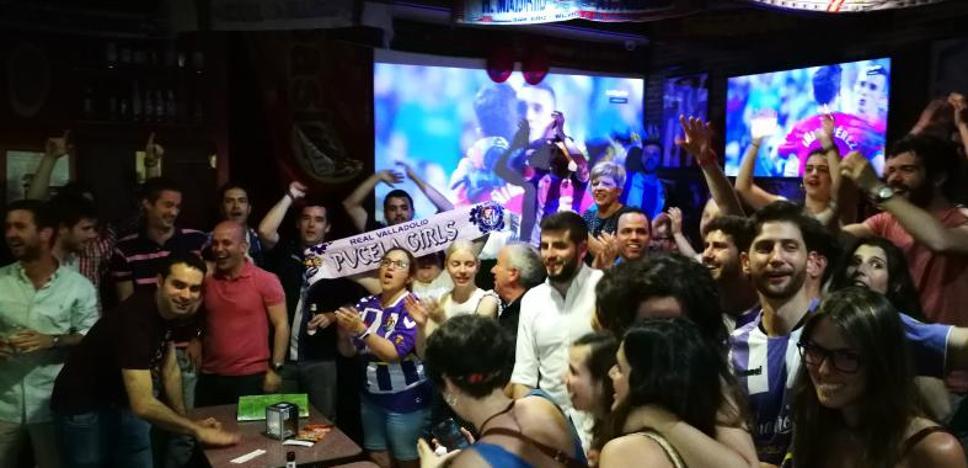 Madrid también vibra con el pucela