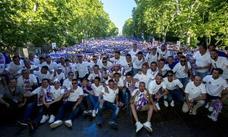 30.000 personas abarrotan el centro de Valladolid para festejar el ascenso a Primera