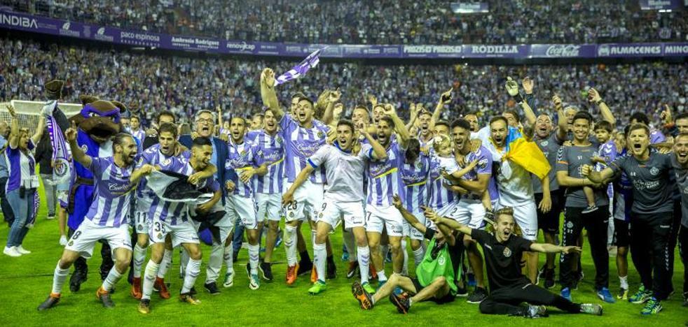 ¡El Real Valladolid ya es de Primera!