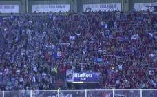 La afición del Real Valladolid, un ejempo para el fútbol por su ovación final al Numancia