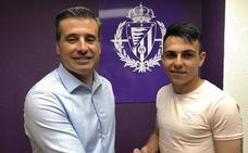 Sergio Nieto pasa del Juvenil al filial del Real Valladolid