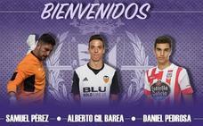 El Real Valladolid B incorpora a un portero, un extremo izquierdo y un delantero