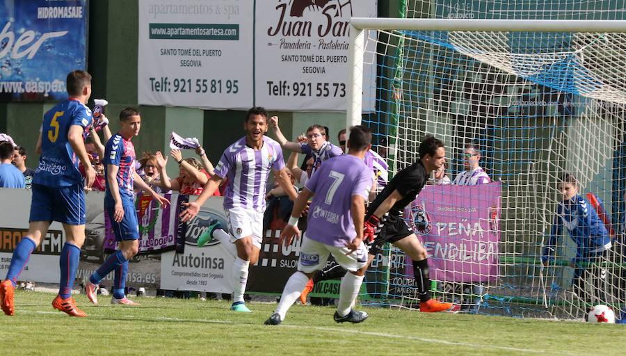 El exdelantero del Real Valladolid B, Luis Suárez, jugará en el Nàstic