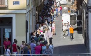 El Real Valladolid formalizó 2.885 abonos el primera día de campaña