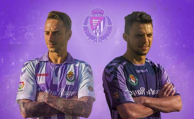 El Real Valladolid ya tiene su camiseta para Primera División  812bc85bf23fd