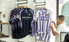El Real Valladolid pone a la venta sus nuevas camisetas