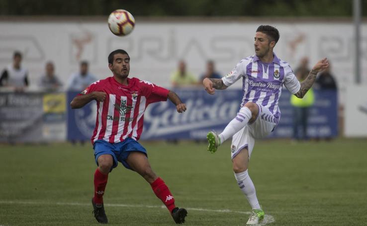 Partido de pretemporada Atlético Tordesillas 1 - 4 Real Valladolid