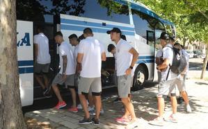 El Real Valladolid viaja a Marbella con 27 futbolistas