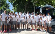 Pretemporada: El Real Valladolid sale hacia Marbella