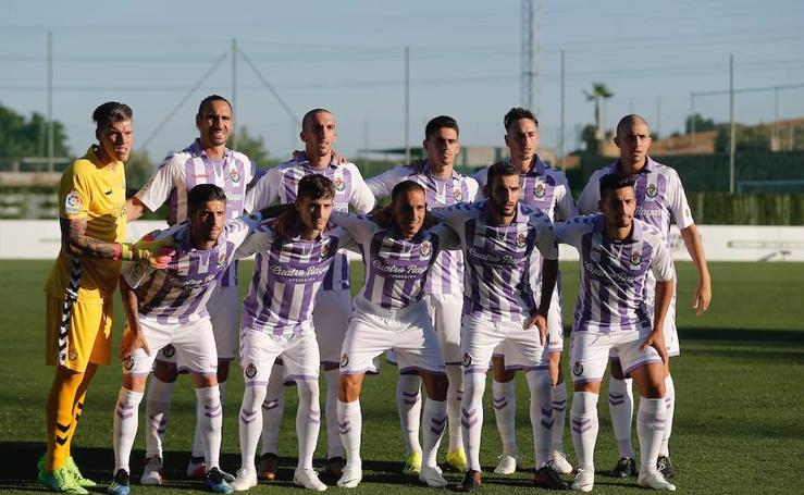 Partido de pretemporada entre el Almería y el Real Valladolid