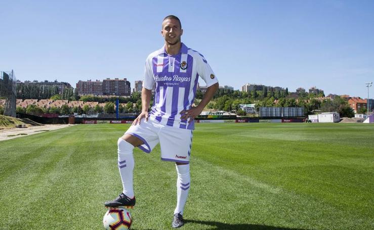 Presentación de Keko como jugador del Real Valladolid