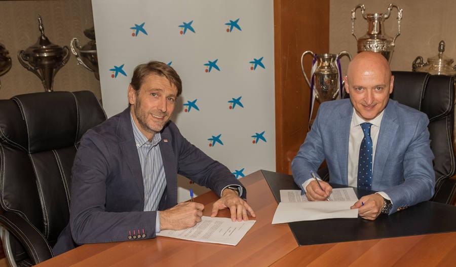 CaixaBank se convierte en nuevo patrocinador oficial del Real Valladolid Club de Futbol hasta el 2020