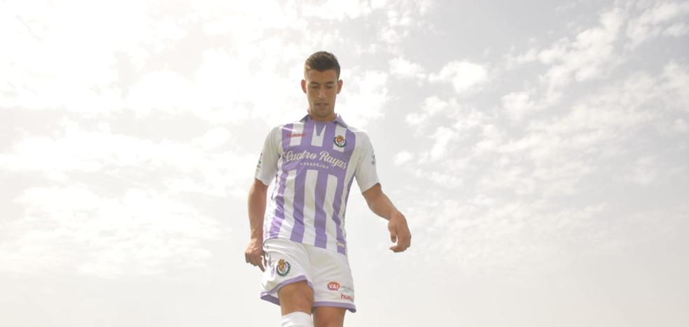 Alcaraz llega al Pucela para agradecer la apuesta del club