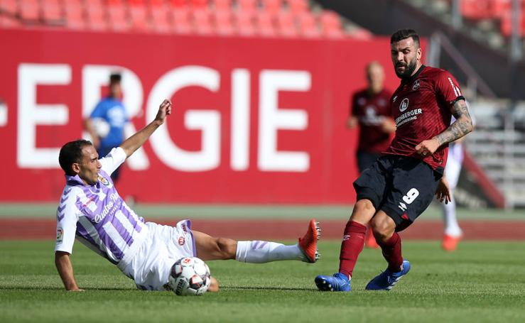 El Real Valladolid cae ante el Núremberg (1-0)